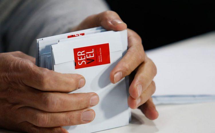 SERVEL explicó cual será el orden en que se contabilizaran los votos en las elecciones