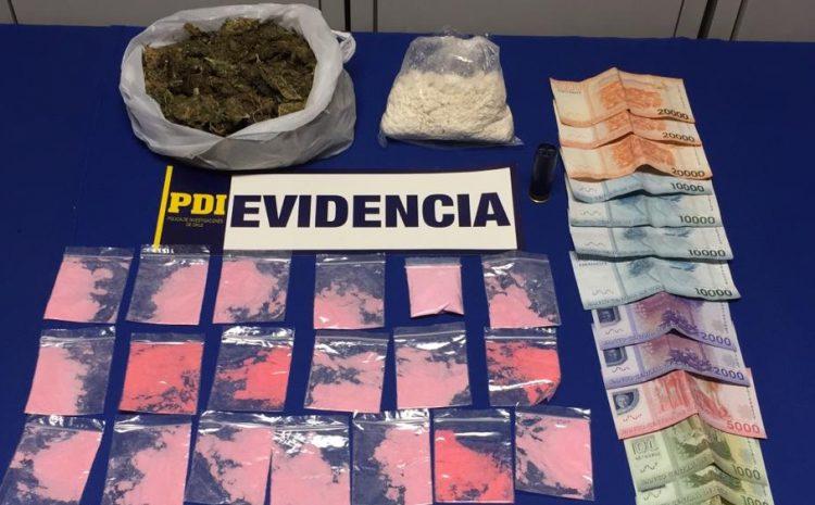 El equipo de MT0 de la PDI desarticuló cuatro centros de microtráfico de drogas en Los Vilos