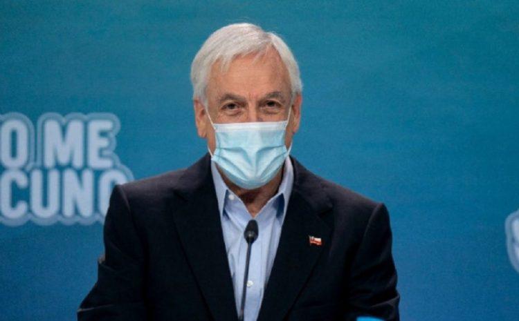 Presidente Piñera fue parte del balance del Minsal y anunció nuevo acuerdo con Sinovac