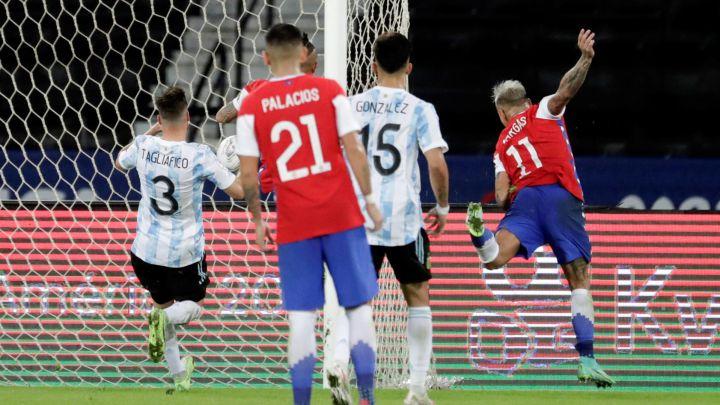 Chile empata en su debut por Copa América 2021