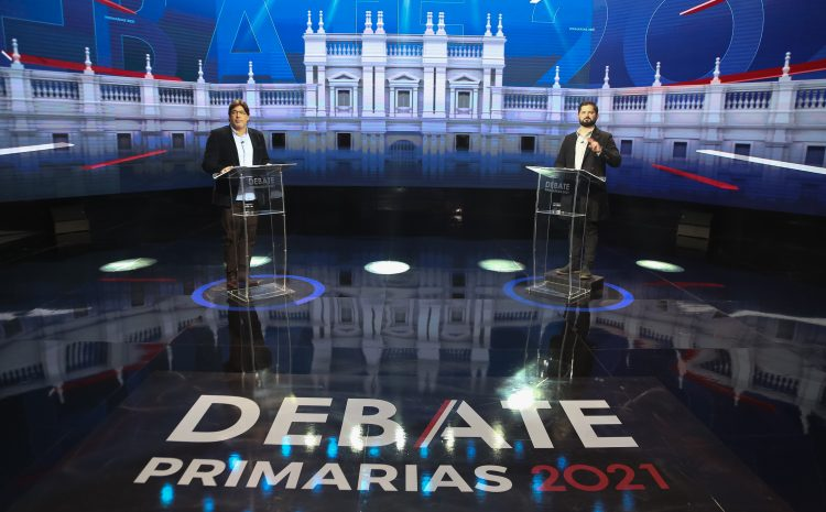 Debate entre Daniel Jadue y Gabriel Boric lideró sintonía en CNN Chile y Chilevisión