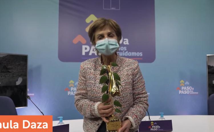 Paula Daza fue nombrada como reina del Copihue De Oro 2021