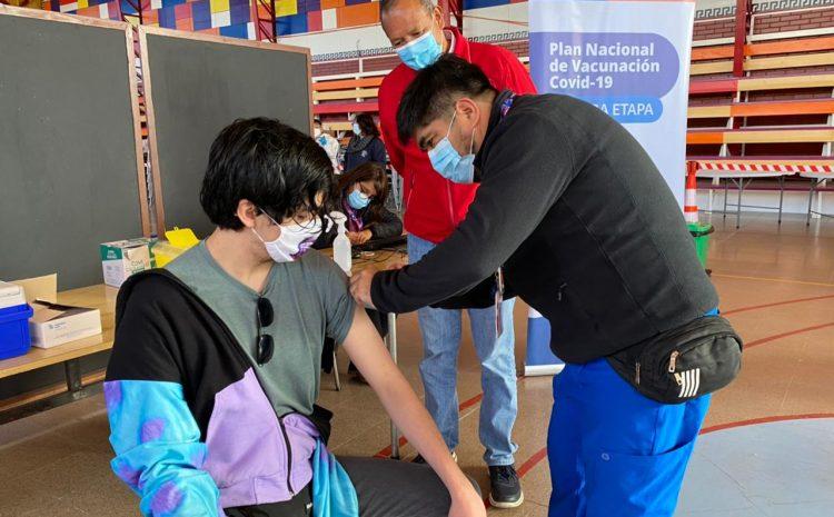 Con vacunación en colegios buscan aumentar la cobertura del proceso en la comuna de Coquimbo