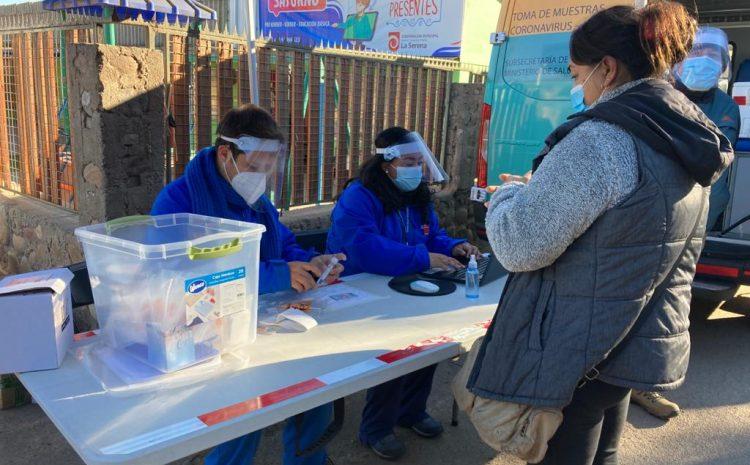 Reactivan estrategia para realizar testeo preventivo de Covid en cercanías de los colegios