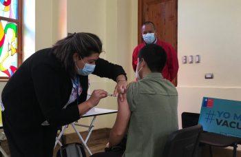 Illapel, Coquimbo y Ovalle continúan con los operativos de vacunación el fin de semana