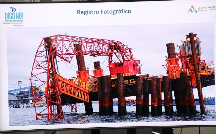 Municipalidad de Los Vilos solicita investigación por caída de grúa en el puerto
