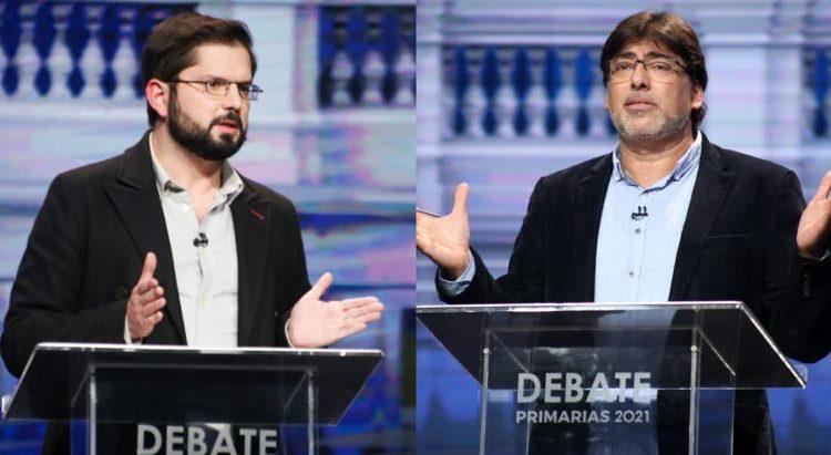 Último debate presidencial de Apruebo Dignidad