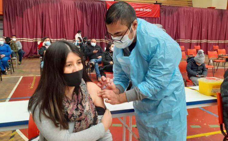 Cobertura de vacunación en la región alcanza el 78.6%