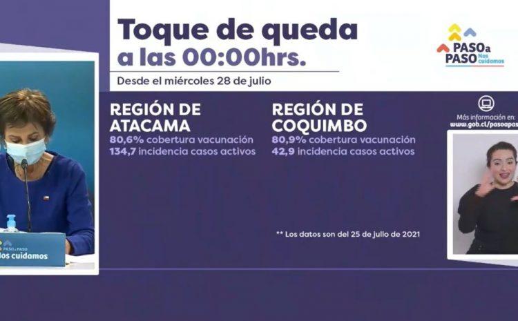 Toque de queda en la región de Coquimbo comienza a partir de la medianoche