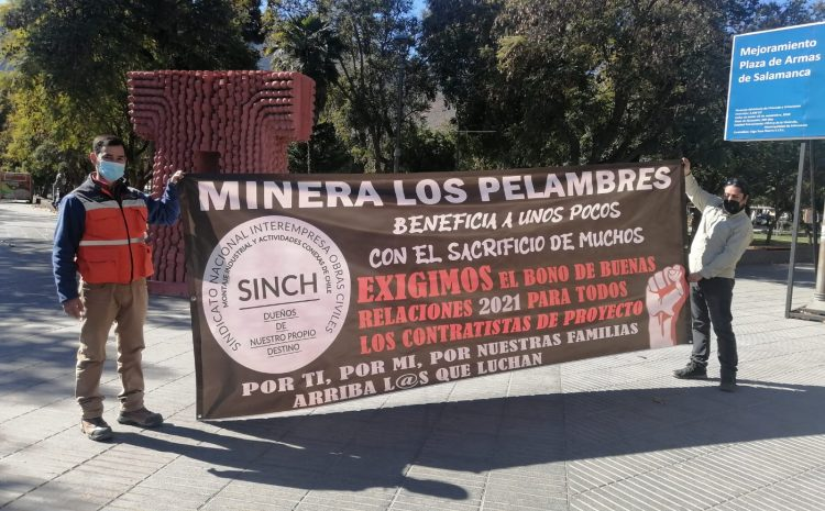 Trabajadores de proyecto INCO se manifiestan en distintos puntos de la provincia