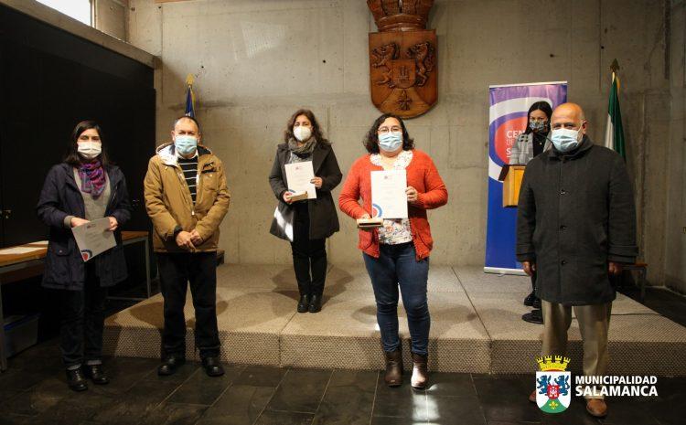 Mujeres de Salamanca se certifican gracias al Centro de Negocios Sercotec de Illapel