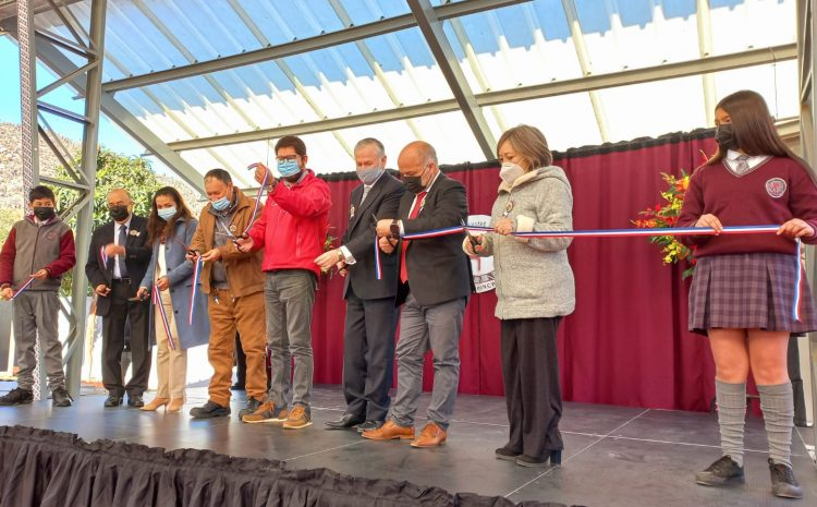 Se inaugura nuevo espacio en Escuela Diaguitas de Chalinga