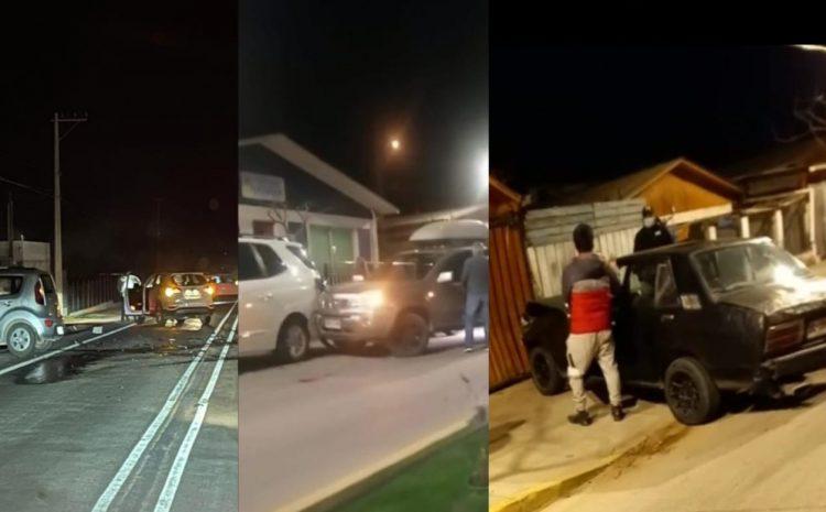 Salamanca: Tres accidentes de tránsito en un día