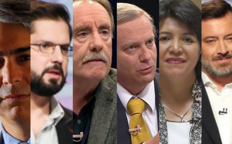 Debate presidencial: CNN y CHV sortearán el orden de presentación de candidatos
