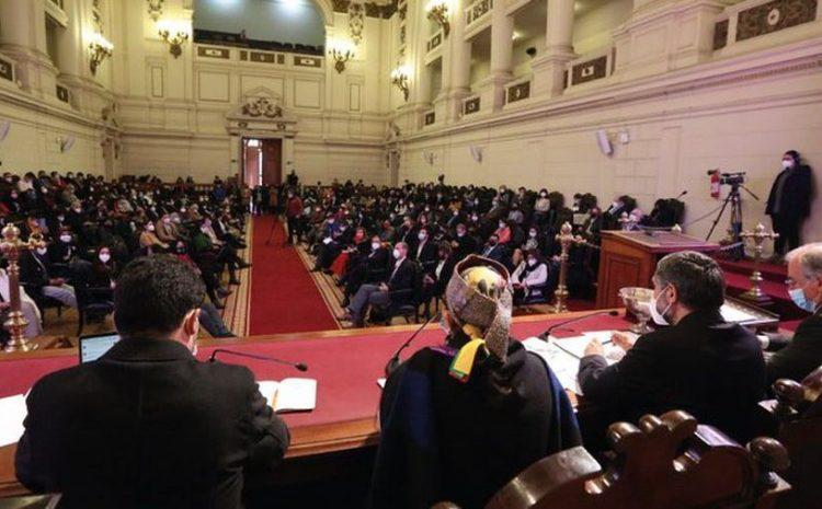 Constituyentes aprueban en general los cuatro reglamentos que guiarán las votaciones de la CC