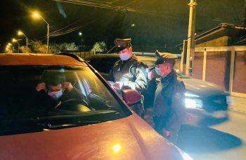 Cerca de 800 fiscalizaciones se han realizado en septiembre para prevenir accidentes