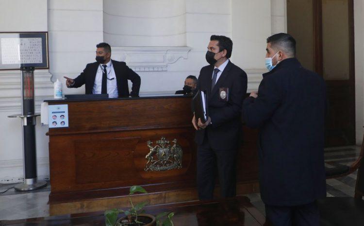 Hasta sede de la Convención llega la PDI tras denuncia de la mesa directiva contra Rodrigo Rojas Vade