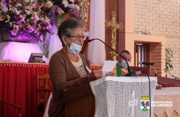Misa en Parroquia Nuestra Señora del Rosario da inicio al mes del adulto mayor